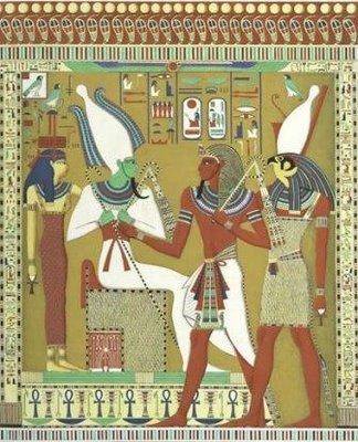 Osiri Isis Horus