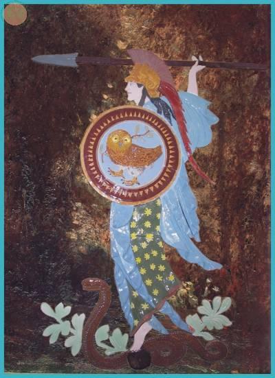 Bassorilevo di Athena (proprità privata)