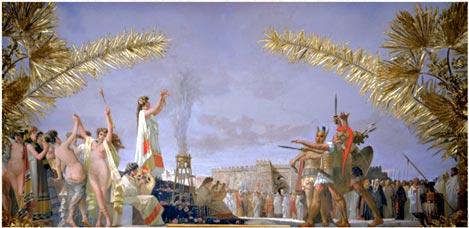 sacrificio alla Dea Cupra