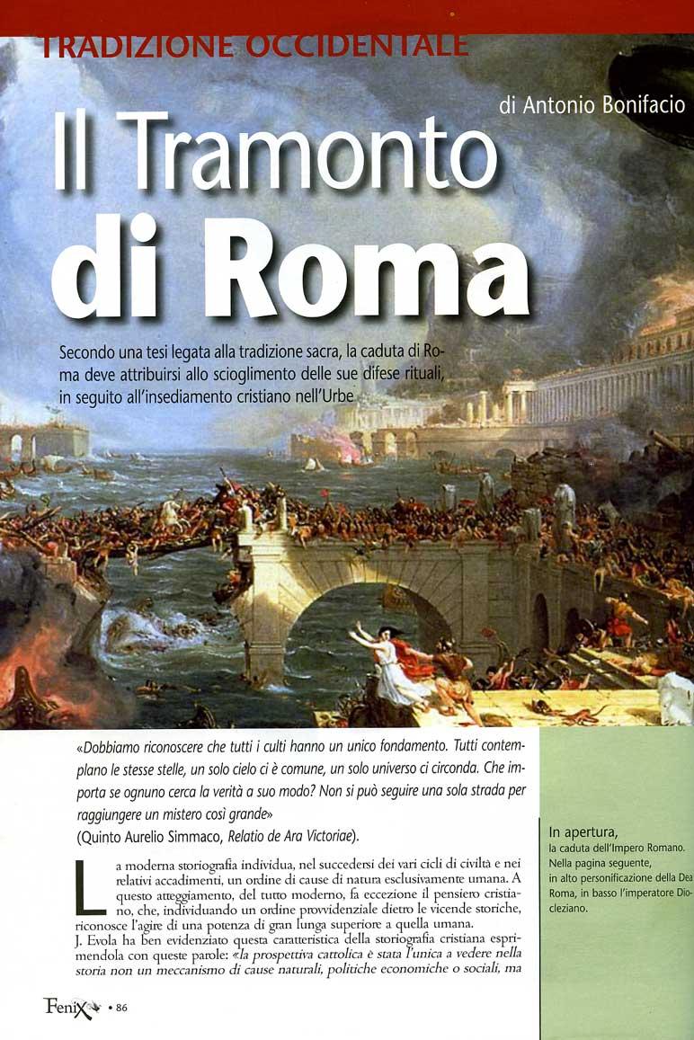 Tramonto di Roma 1